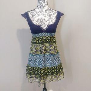 Free People Vintage Silk Mini Dress